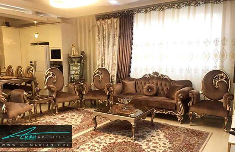 دکوراسیون منزل عروس ایرانی