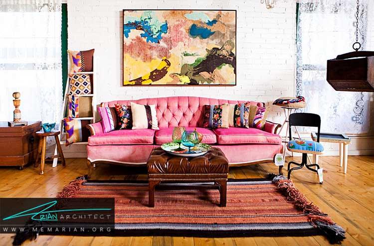 سبک شهری یا خانه بوهم از سبک های دکوراسیون داخلی