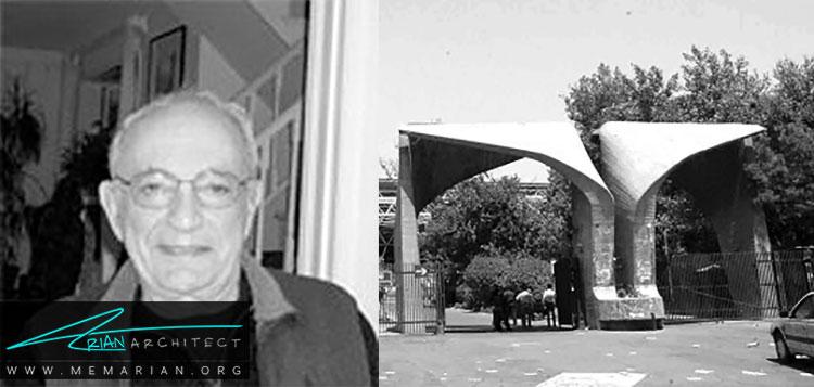 کورش فرامرزی از بهترین معماران ایرانی
