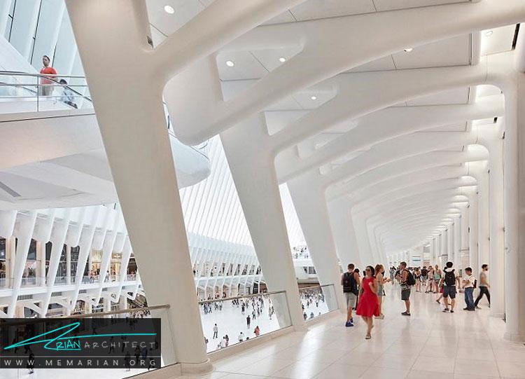 مرکز تجارت جهانی نیویورک نمونه ای از معماری خارجی