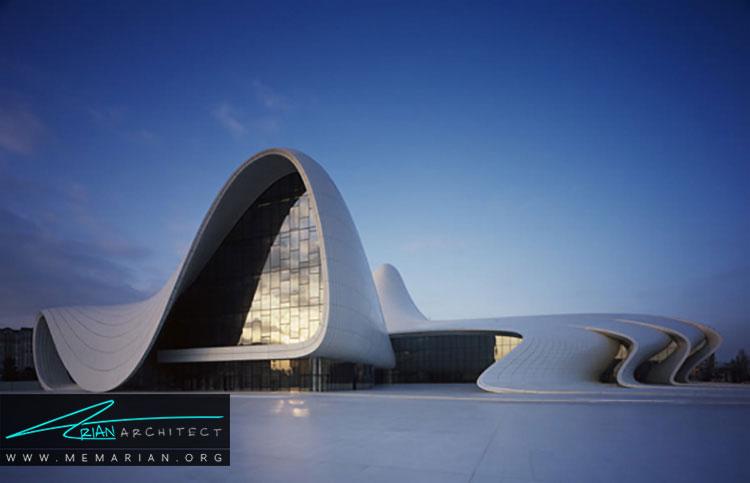 مرکز خرید حیدر علیف نمونه ای از معماری خارجی