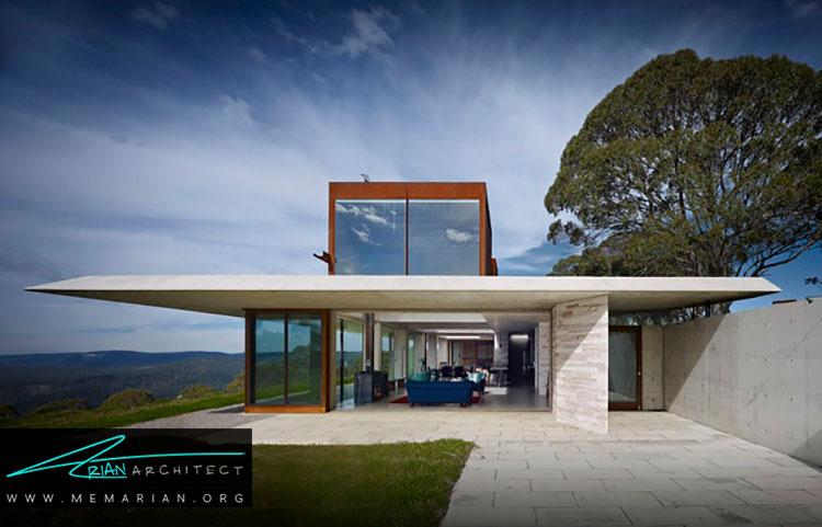 خانه نامرئی نمونه ای از معماری خارجی