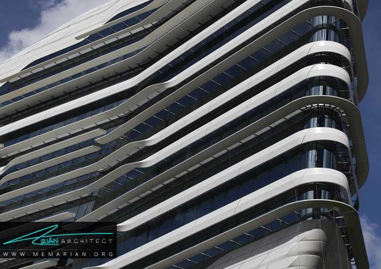 برج نوآوری باشگاه اسب دوانی نمونه ای از معماری خارجی
