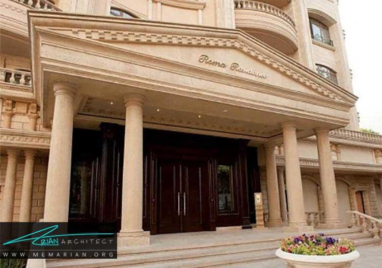 برج روما شامل خانه های مجلل تهران