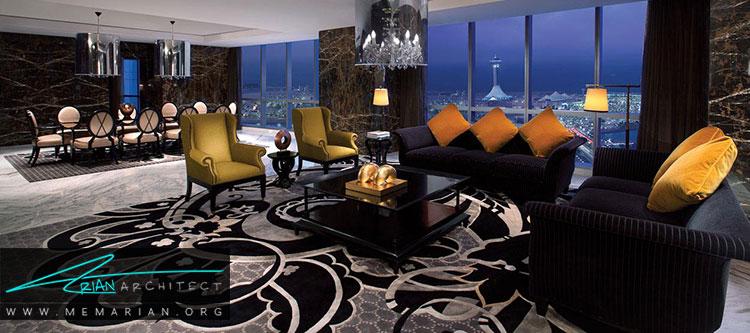 هتل جمیرا در برج اتحاد از بهترین هتل های جهان