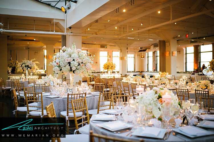 زیباترین سالن های عروسی در نیویورک