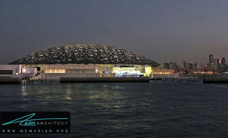 موزه لوور ابوظبی از جدیدترین طرح های معماری