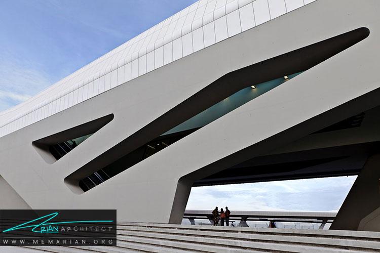 ایستگاه جدید قطار ناپولی آفراگولا از جدیدترین طرح های معماری