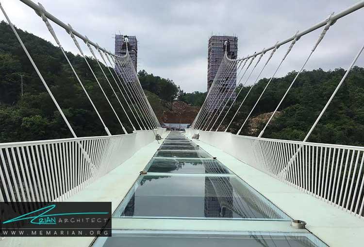 پل شیشه ای ژانگ ژیاژی از جدیدترین طرح های معماری