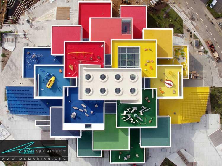 خانه لگو از جدیدترین طرح های معماری