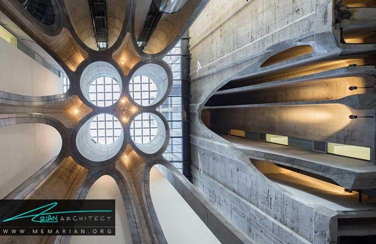 موزه هنر های معاصر آفریقا از جدیدترین طرح های معماری