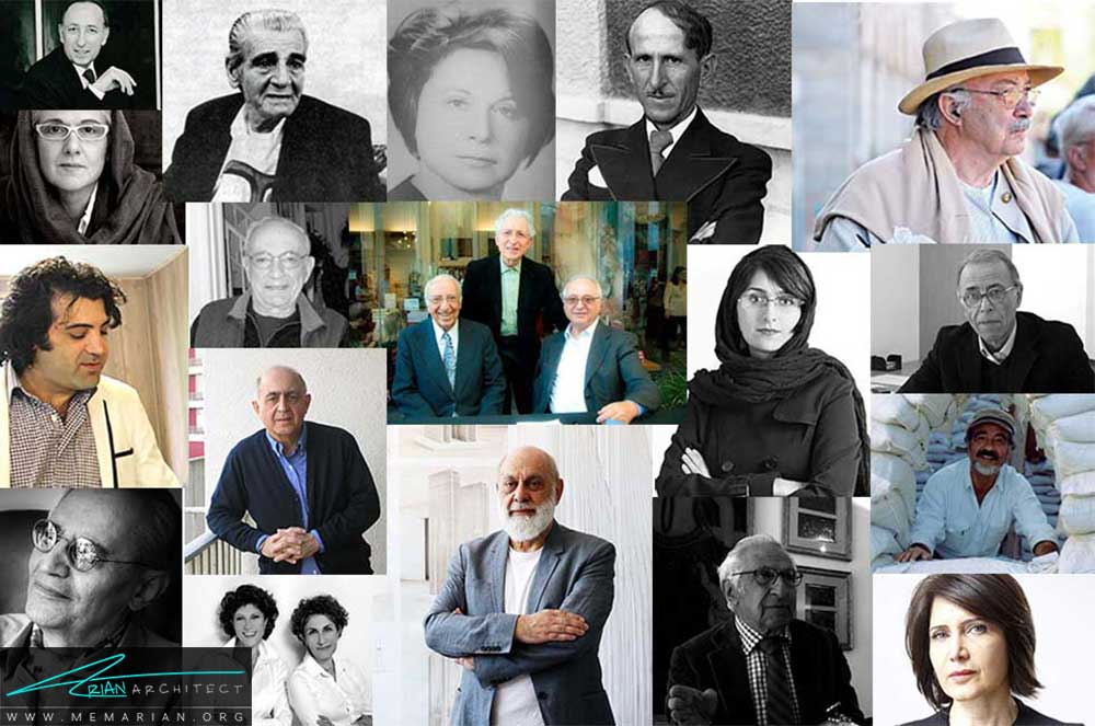 بهترین معماران ایرانی که بهترین آثار معماری را خلق کرده اند