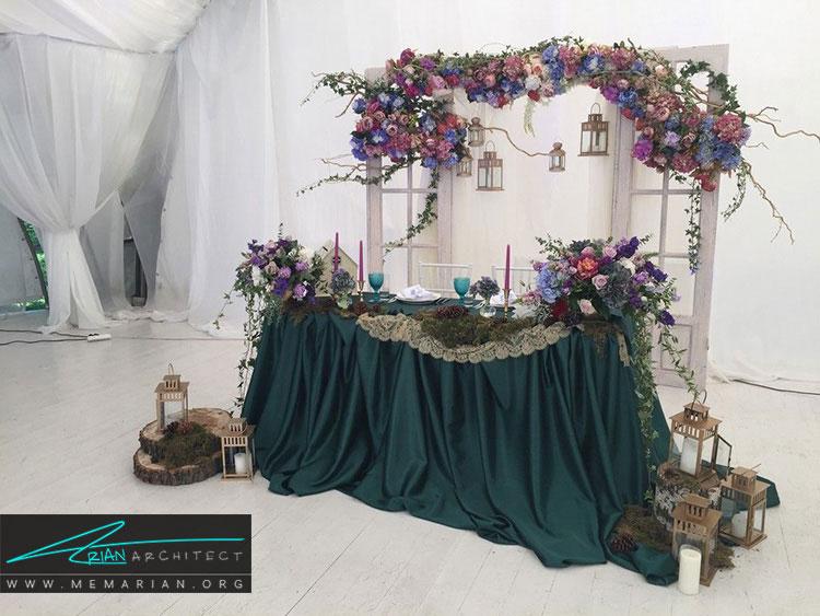 تزیین کلبه ی عروس شیک
