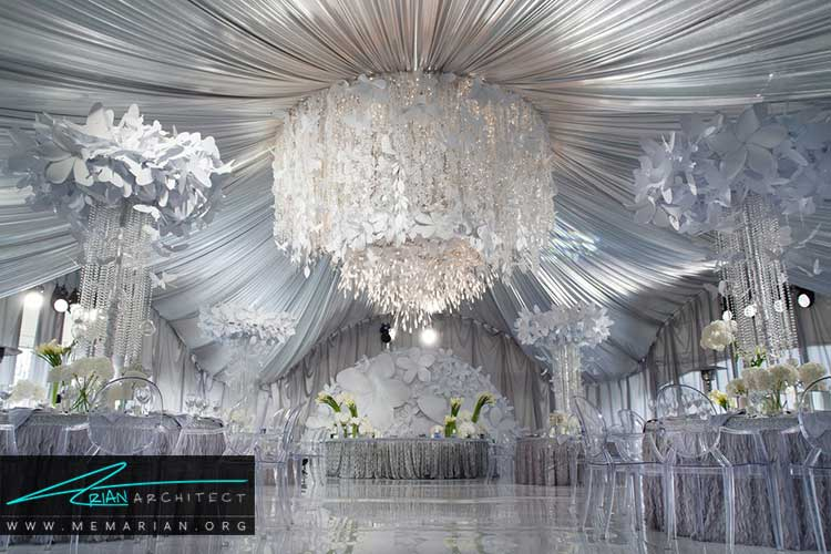 طراحی کلبه عروس با ایده های جالب