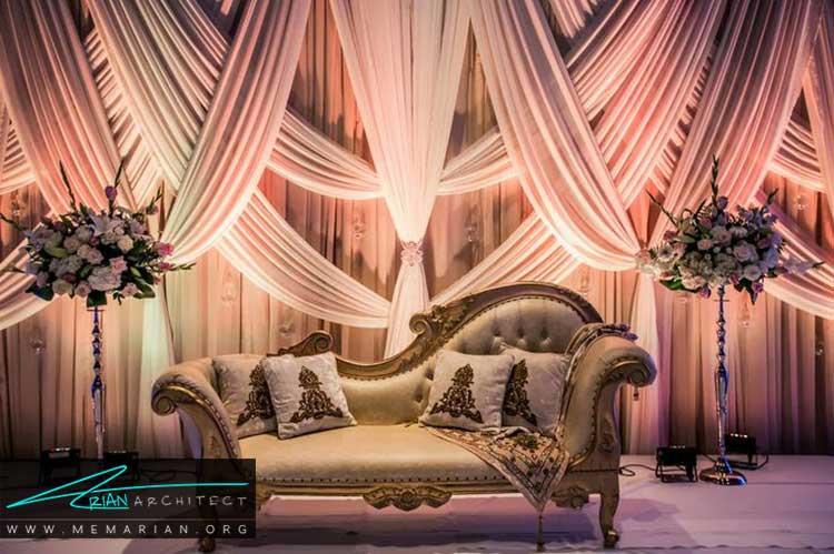 چیدمان کلبه ی عروس به سبک کلاسیک