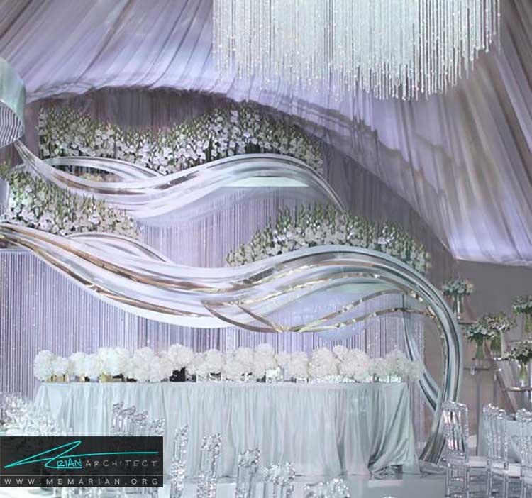 کلبه ی عروس با تزیین و چیدمان زیبا
