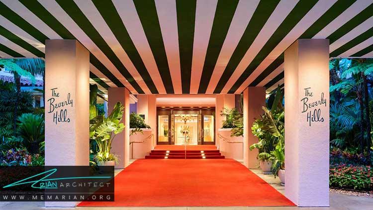 هتل بورلی هیلز از بهترین هتل های جهان