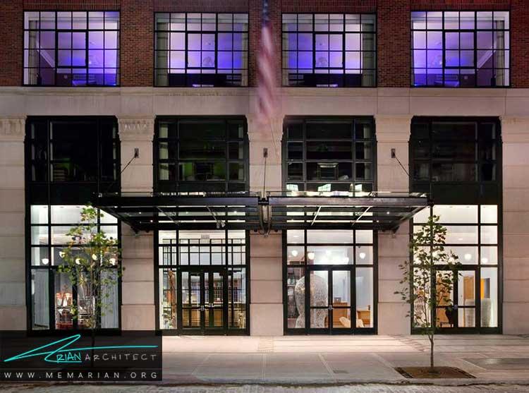 هتل خیابان کروزبی در نیویورک از بهترین هتل های جهان