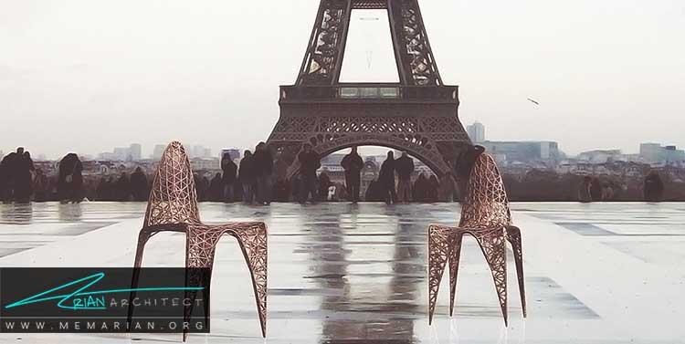 نوآوری و خلاقیت در معماری و طراحی مبلمان