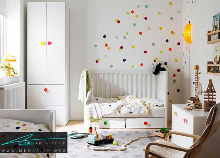 ایده های دکور اتاق کودک و نوجوان