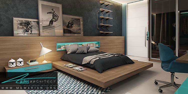 طراحی های زیبا برای اتاق کودک و نوجوان