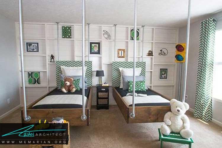ایده های جالب برای دکور اتاق کودک و نوجوان