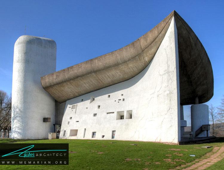 سبک معماری لوکوربوزیه
