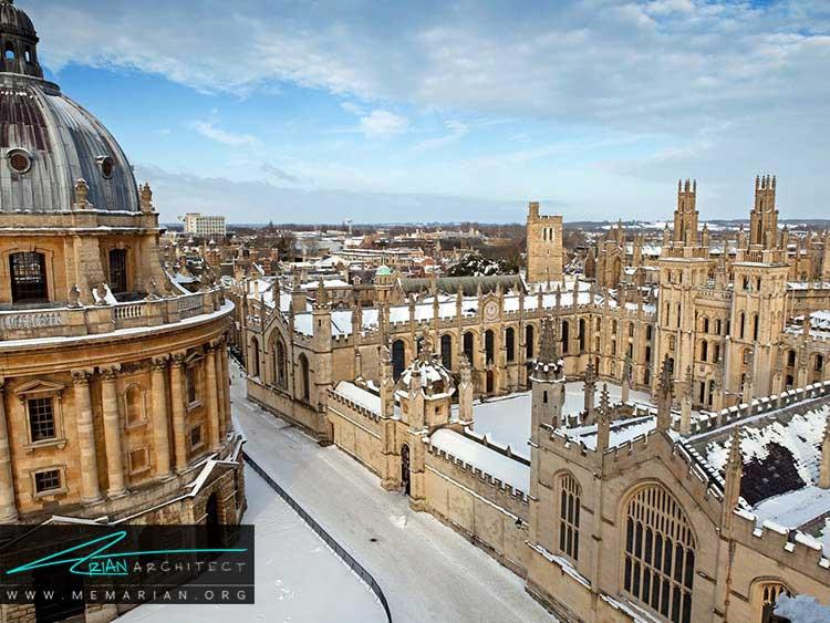 آکسفورد از زیباترین شهرهای جهان