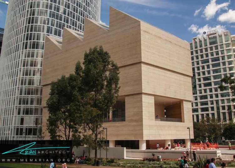 موزه Jumex نمونه ای از معماری خارجی