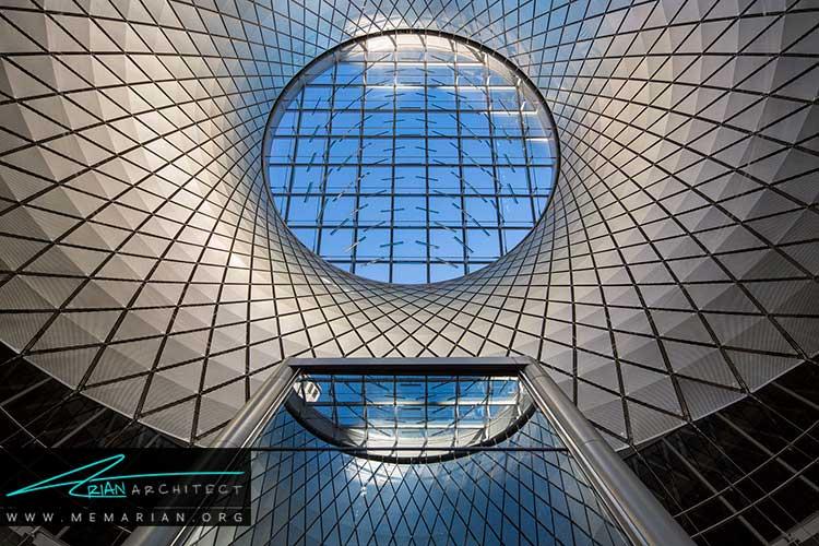 ایستگاه مترو مرکز فولتون نمونه ای از معماری خارجی