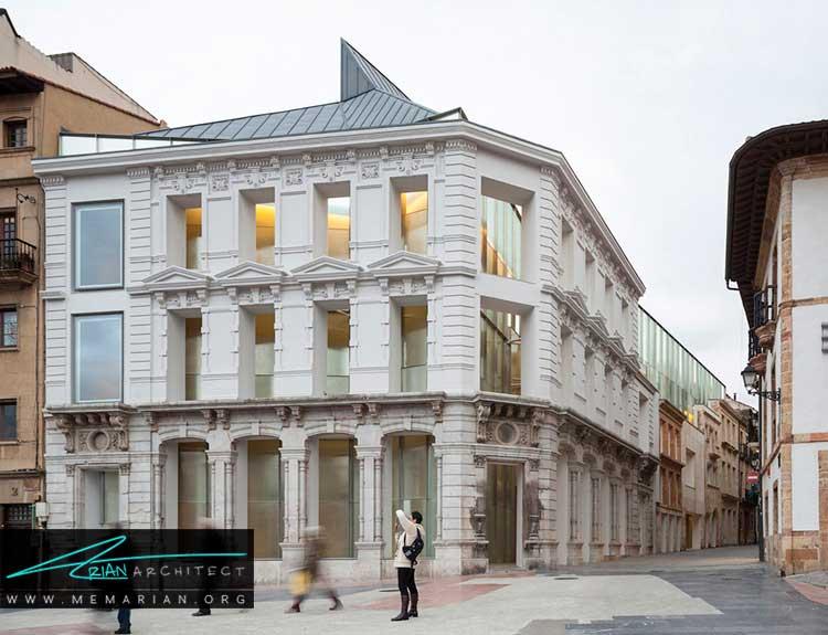 موزه هنرهای زیبای اُویدونمونه ای از معماری خارجی