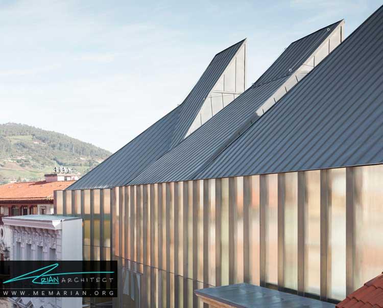 موزه هنرهای زیبای اُویدو نمونه ای از معماری خارجی