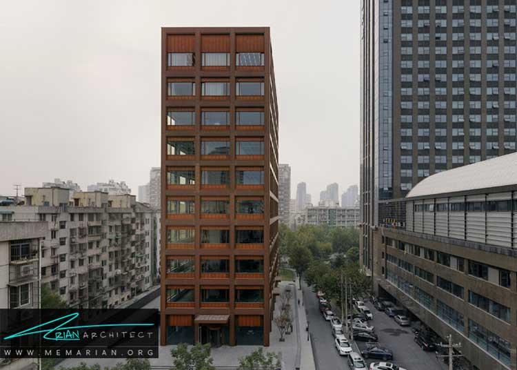 ساختمان اداری جاده موگانشان نمونه ای از معماری خارجی