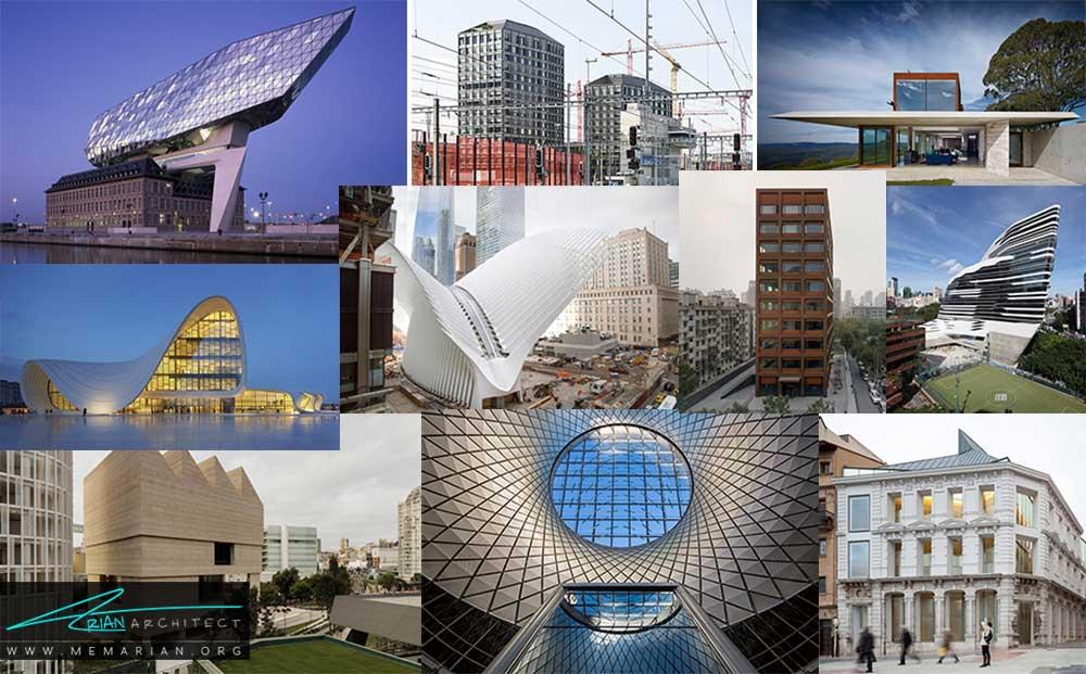 10 نمونه معماری خارجی برتر در جهان