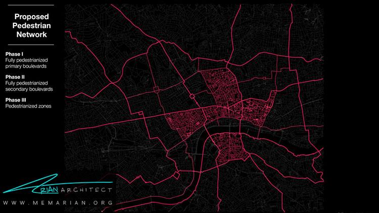 طرح شرکت زاها حدید برای شبکه حمل ونقل لندن