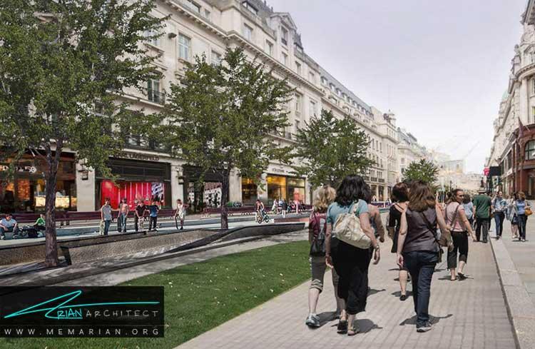 طرح پیشنهادی گروه زاها حدید برای لندن