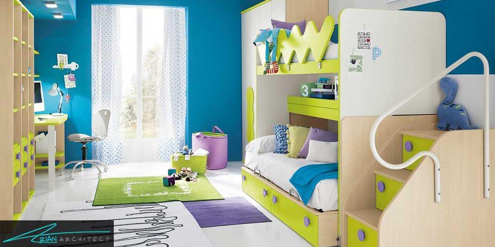 دکور اتاق خواب پسران به بهترین شکل