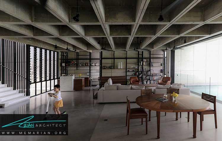 طراحی داخلی به سبک بروتالیست