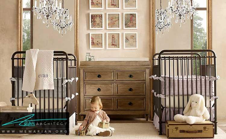 طراحی اتاق نوزادان و کودکان