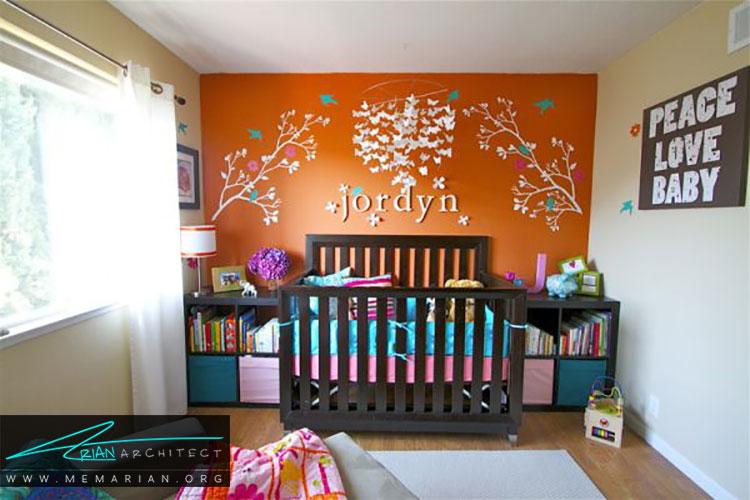 طراحی مناسب برای اتاق نوزادان