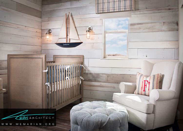 تم های خلاق برای اتاق نوزادان