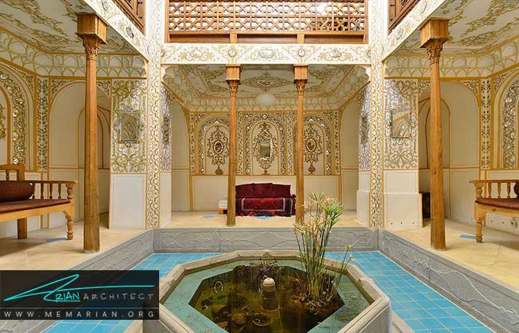 معماری و ویژگی های خانه های ایرانی