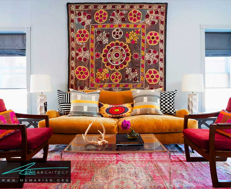 فرش ها و قالی ها در دکوراسیون خانه های ایرانی