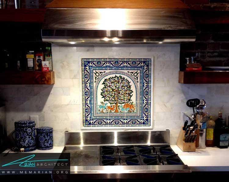 سرامیک در دکوراسیون خانه های ایرانی