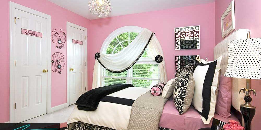 دکور اتاق دختران به بهترین شکل