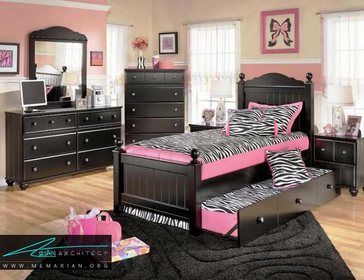 دکور مناسب در اتاق دختران