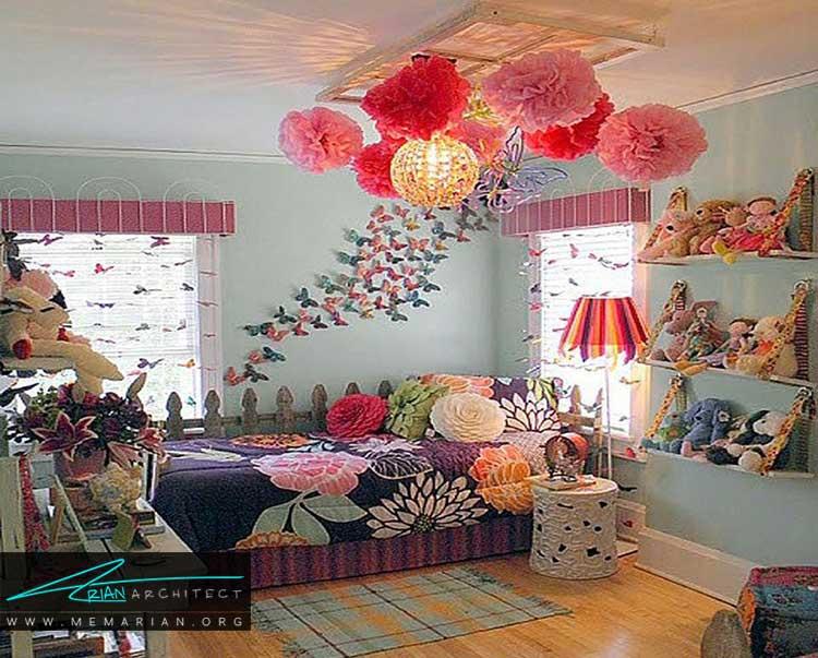 ایده های دکور اتاق دختران