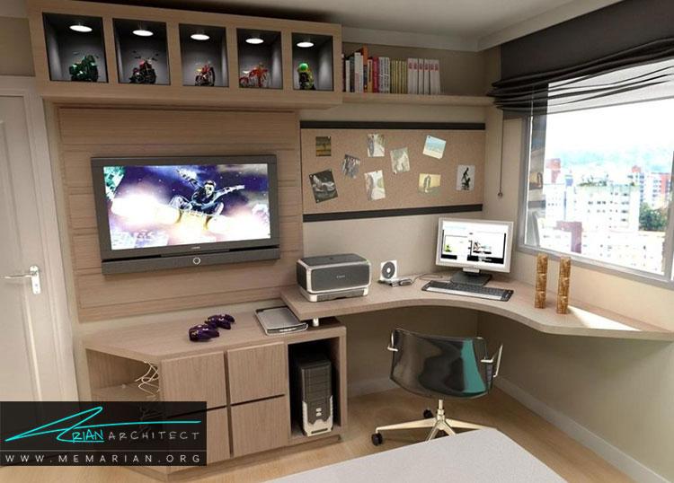 دیزاین اتاق کار در خانه