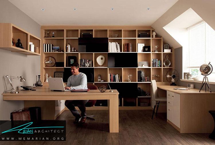 مبلمان باکیفیت برای دفترکار در خانه