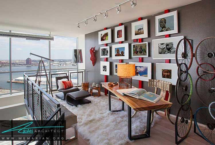 طراحی دفترکار در خانه